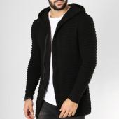 /achat-cardigans-gilets/ikao-gilet-zippe-capuche-oversize-f197-noir-161270.html