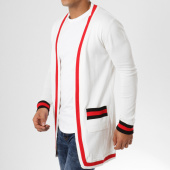 /achat-cardigans-gilets/ikao-gilet-f221-blanc-rouge-noir-161276.html