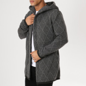 /achat-cardigans-gilets/ikao-gilet-zippe-capuche-oversize-f3522-gris-anthracite-chine-161293.html