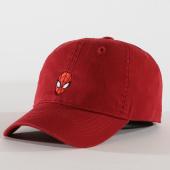 /achat-casquettes-de-baseball/spiderman-casquette-face-bordeaux-161302.html