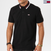 /achat-polos-manches-courtes/tommy-hilfiger-jeans-polo-manches-courtes-tommy-classics-5509-noir-161462.html