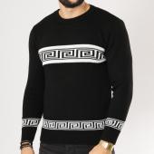 /achat-pulls/uniplay-pull-uy287-noir-blanc-161281.html
