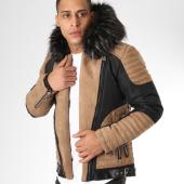 /achat-blousons/classic-series-blouson-fourrure-pyp14533541-noir-beige-161525.html