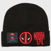 /achat-bonnets/marvel-bonnet-deadpool-patches-noir-161512.html