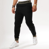 /achat-pantalons-joggings/gianni-kavanagh-pantalon-jogging-fleece-noir-dore-161604.html