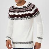 /achat-pulls/john-h-pull-jp-33-blanc-noir-bordeaux-161618.html