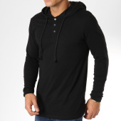 /achat-t-shirts-longs-oversize/jack-and-jones-tee-shirt-oversize-manches-longues-a-capuche-benny-noir-161722.html