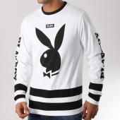 /achat-t-shirts-manches-longues/playboy-tee-shirt-manches-longues-plby-blanc-161794.html