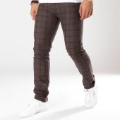 /achat-pantalons-carreaux/classic-series-pantalon-carreaux-1206-marron-noir-161893.html