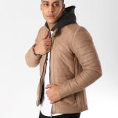 /achat-vestes/classic-series-veste-zippee-capuche-suedine-411-beige-161924.html