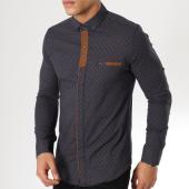/achat-chemises-manches-longues/classic-series-chemise-manches-longues-3371-bleu-marine-marron-161951.html