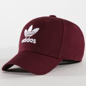 /achat-casquettes-de-baseball/adidas-casquette-classic-dv0175-bordeaux-blanc-162012.html