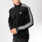 /achat-vestes/adidas-veste-zippee-velours-cozy-dx3626-noir-blanc-162030.html