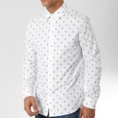 /achat-chemises-manches-longues/calvin-klein-chemise-manches-longues-monogram-aop-blanc-162077.html