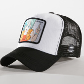 /achat-trucker/dragon-ball-z-casquette-trucker-bulma-blanc-noir-162031.html