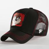 /achat-trucker/looney-tunes-casquette-trucker-taz-noir-rouge-162045.html