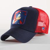 /achat-trucker/sonic-the-hedgehog-casquette-trucker-sonic-bleu-marine-rouge-162050.html