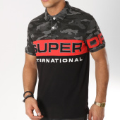 /achat-polos-manches-courtes/superdry-polo-manches-courtes-international-m11006er-noir-gris-anthracite-camouflage-162067.html