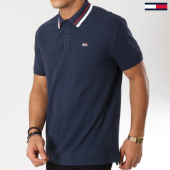 /achat-polos-manches-courtes/tommy-hilfiger-jeans-polo-manches-courtes-classics-stretch-5509-bleu-marine-162059.html