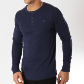 /achat-t-shirts-manches-longues/g-star-tee-shirt-manches-longues-korpaz-d11000-1141-bleu-marine-162191.html