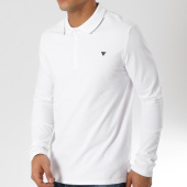 /achat-polos-manches-longues/guess-polo-manches-longues-m83p01k4kv0-blanc-162124.html