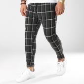 /achat-pantalons-carreaux/john-h-pantalon-carreaux-2299-noir-gris-anthracite-162200.html