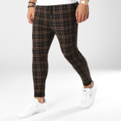 /achat-pantalons-carreaux/john-h-pantalon-carreaux-2290-noir-marron-162220.html