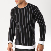 /achat-pulls/john-h-pull-011-noir-blanc-162229.html
