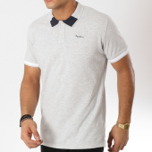 /achat-polos-manches-courtes/pepe-jeans-polo-manches-courtes-jonson-gris-chine-162186.html