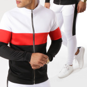 /achat-ensembles-survetement/aarhon-ensemble-de-survetement-18-105-blanc-noir-rouge-162251.html