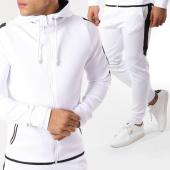 /achat-ensembles-survetement/classic-series-ensemble-de-survetement-md155-blanc-noir-162274.html