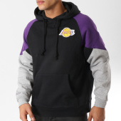 /achat-sweats-capuche/mitchell-and-ness-sweat-capuche-trading-block-los-angeles-lakers-noir-violet-gris-chine-162236.html