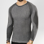 /achat-pulls/paname-brothers-pull-104-gris-anthracite-chine-162263.html