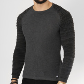 /achat-pulls/paname-brothers-pull-101-gris-anthracite-162267.html