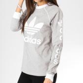 /achat-t-shirts-manches-longues/adidas-tee-shirt-manches-longues-femme-original-dh4713-gris-chine-blanc-162409.html