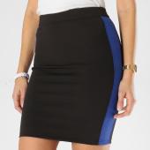 /achat-jupes/girls-only-jupe-femme-avec-bandes-v939-noir-bleu-marine-162388.html