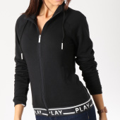/achat-vestes/only-veste-zippee-femme-luna-noir-blanc-162387.html