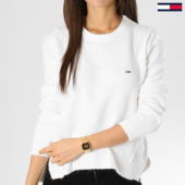 /achat-pulls/tommy-hilfiger-jeans-pull-femme-side-stitch-detail-5927-blanc-162328.html