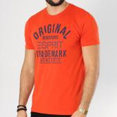 /achat-t-shirts/esprit-tee-shirt-128ee2k009-orange-162462.html
