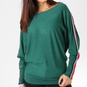 /achat-pulls/girls-only-pull-femme-avec-bandes-jp2026-vert-162482.html