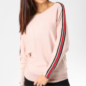 /achat-pulls/girls-only-pull-femme-avec-bandes-jp2026-rose-blanc-rouge-162486.html