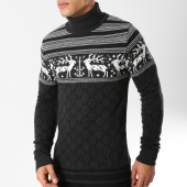 /achat-pulls/classic-series-pull-col-roule-kante-gris-anthracite-blanc-162518.html