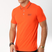 /achat-polos-manches-courtes/ea7-polo-manches-courtes-3gpf51-pjm5z-orange-162600.html