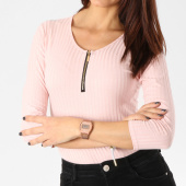 /achat-t-shirts-manches-longues/girls-only-body-manches-longues-femme-843-rose-162589.html
