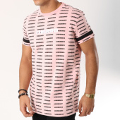 /achat-t-shirts/umbro-tee-shirt-avec-bandes-heritage-689430-60-rose-noir-162549.html