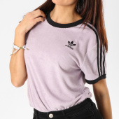/achat-t-shirts/adidas-tee-shirt-eponge-femme-3-stripes-du9598-lilas-noir-162636.html
