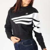 /achat-sweats-col-rond-crewneck/adidas-sweat-crewneck-femme-crop-sweater-du9601-noir-blanc-162637.html