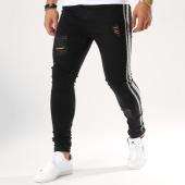 /achat-jeans/gianni-kavanagh-jean-slim-avec-bandes-ripped-and-repair-noir-argente-162667.html