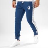 /achat-pantalons-joggings/sinners-attire-pantalon-jogging-avec-bandes-poly-panel-bleu-marine-blanc-162649.html