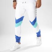/achat-pantalons-joggings/sinners-attire-pantalon-jogging-avec-bandes-retro-blanc-bleu-clair-vert-162660.html
